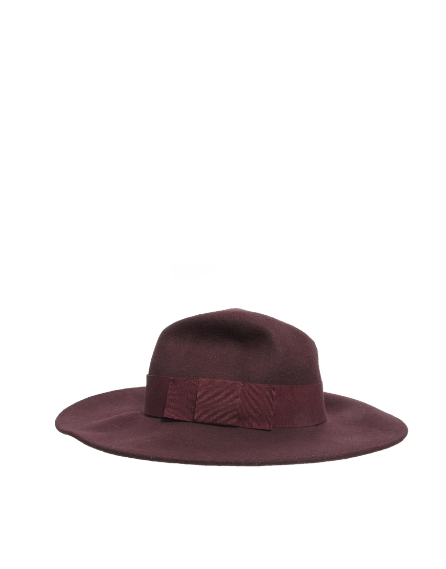 Catarzi Exclusive To ASOS Classic Fedora Hat at asos.com