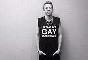 t-shirt,macklemore,top,boy,black,clothes,gay pride,tank top,celeb,rapper,legalize,lgbt,marriage,true,shit,musician,music,menswear,unisex,message