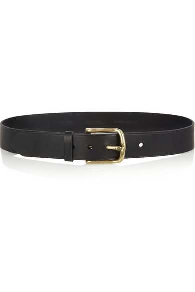 Isabel Marant | Clayne leather belt  | NET-A-PORTER.COM
