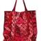 Bao bao issey miyake 'tschime' tote, women's, nylon/polyester/polyurethane/brass