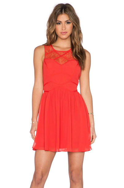 BCBGeneration dress cocktail dress red