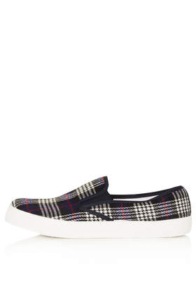 TIKA2 Tartan Skaters - Flats  - Shoes  - Topshop