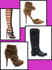shoes,boots,shoeties,gladiators,knee boots,booties,suede,leather,pleather,stilettos,boot,ankle straps,buckles,chain,tan,nude,high heels,heels,motorcycle boots,leopard print