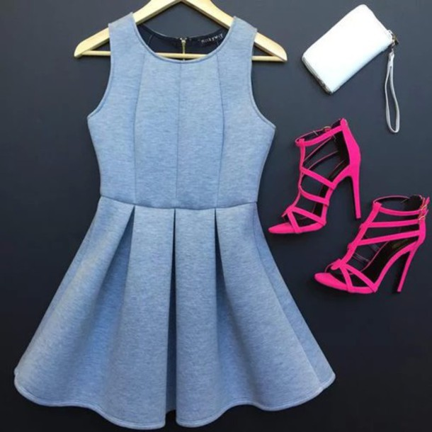 dress cute girly blue