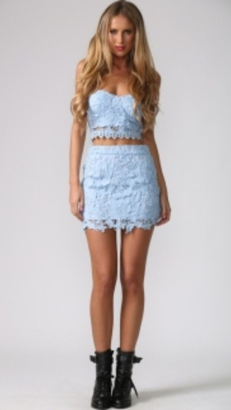 crochet crochet shorts top crop tops shirt style skirt two-piece crop top bustier shoes