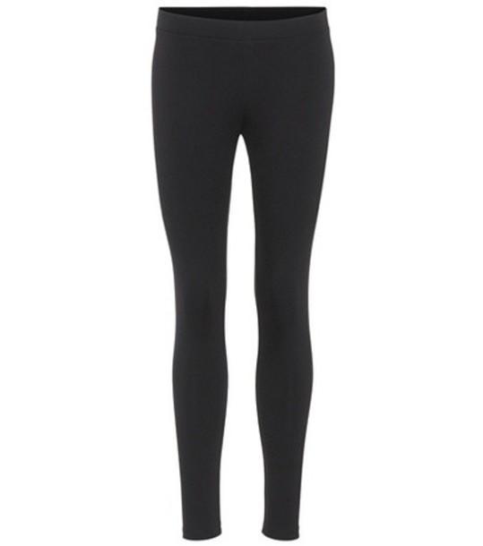 Velvet Jillette leggings in black