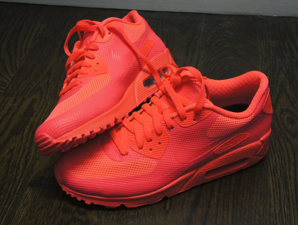 Nike Air Max 90 Hyperfuse Atomic Red HYP PRM 100% Authentic