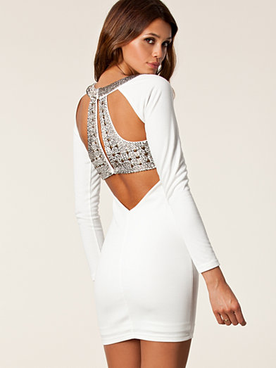 Faith Dress - Nly Trend - White - Party Dresses - Clothing - Women - Nelly.com