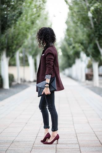 alterations needed blogger jacket shirt jeans shoes bag belt jewels