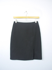 skirt,black skirt,pencil skirt,90s style,1990,black pencil skirt,black,90s skirt,vintage,90s vintage