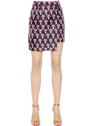 skirt mini skirt mini black red