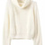 Turtleneck Crop Beige Sweater -SheIn(Sheinside)