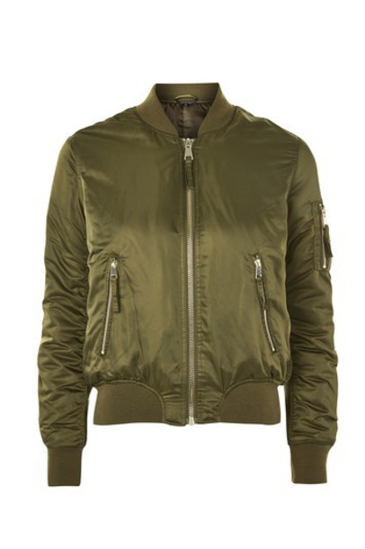 jacket bomber jacket khaki