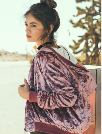 jacket pink velvet girly trendy