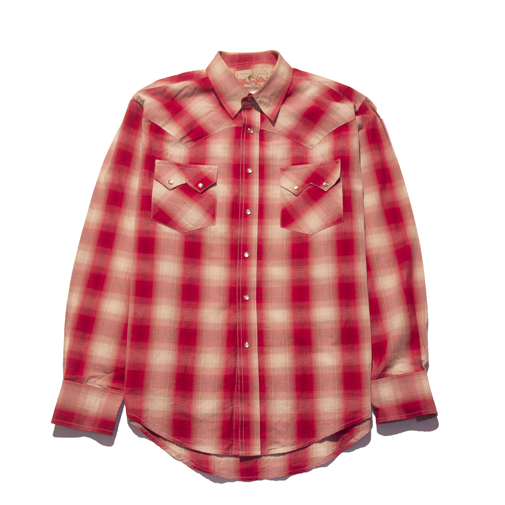 Wrangler western plaid