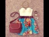 dress,blue dress,white top,skirt,cute dress,summer dress,style,exact,exact same one,exactly like the picture,exactly like this one,exact dress,exact please.!!,thanks