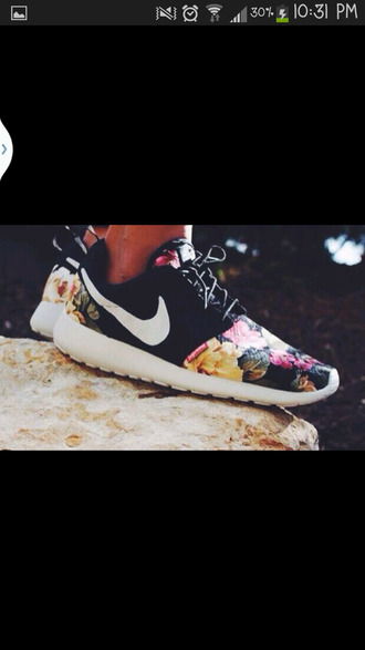 shoes nike roshes floral nike roshe run floral nike roshe run nike roshes floral flowers nike roshe run running shoes