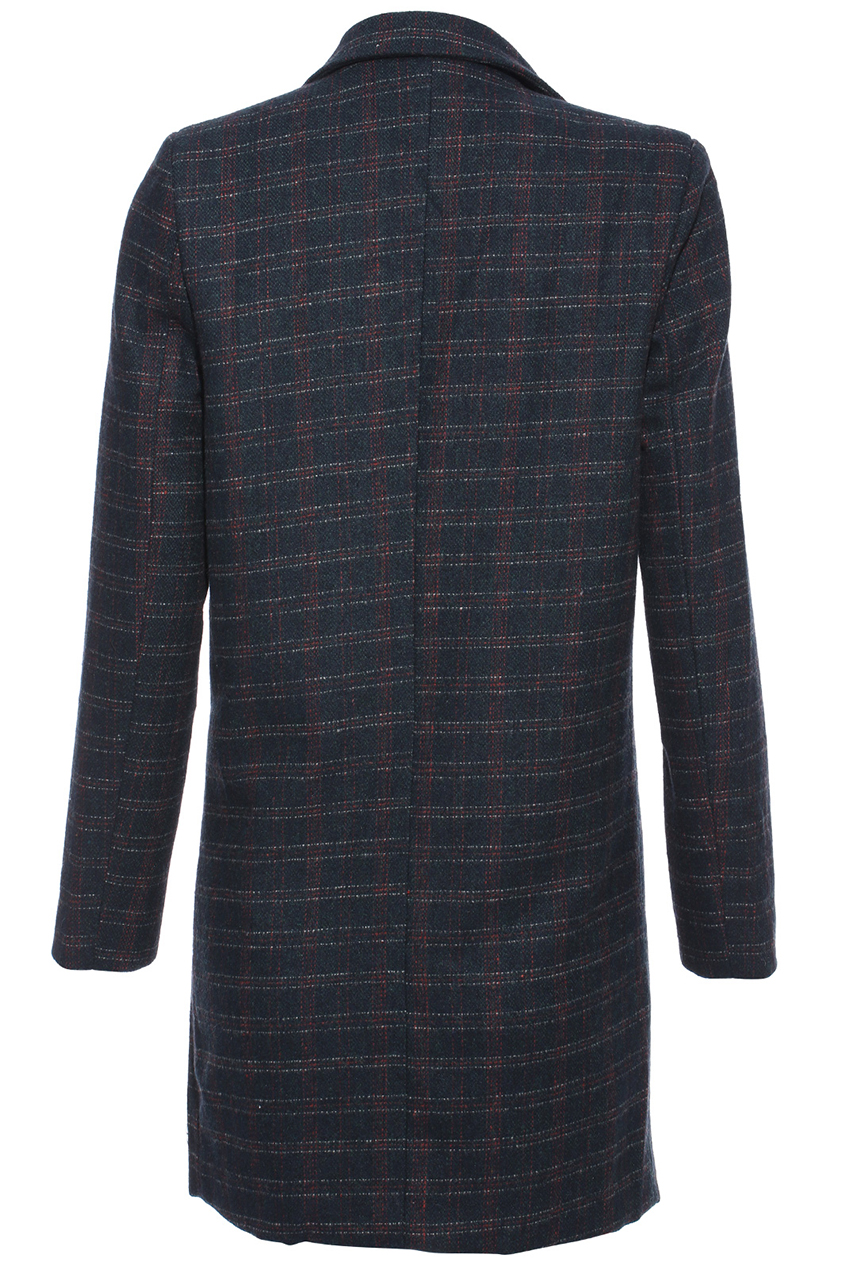 British plaid coat