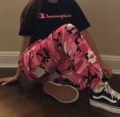 pants,pink,cameo