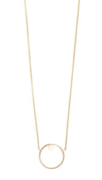 paris short clear necklace gold jewels