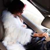 coat,fur,faux fur coat,fur coat,white,white coat,white fur coat,jacket,faux fur jacket,winter jacket,fur vest,fur jacket