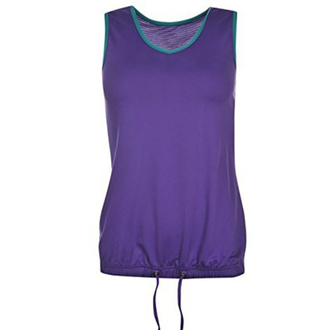 top gym clothes workout top purple fitness tank workout
