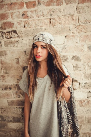 hat headband clothes t-shirt