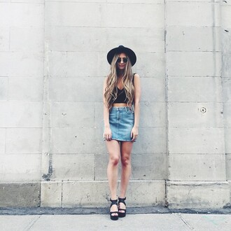 top bobi catherine belle cropped crop tops black cath belle fashion blogger revolve clothing revolveme revolve
