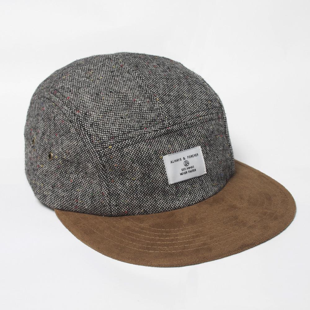 Woven Label Tweed 5 Panel    £28.50 | Always Apparel