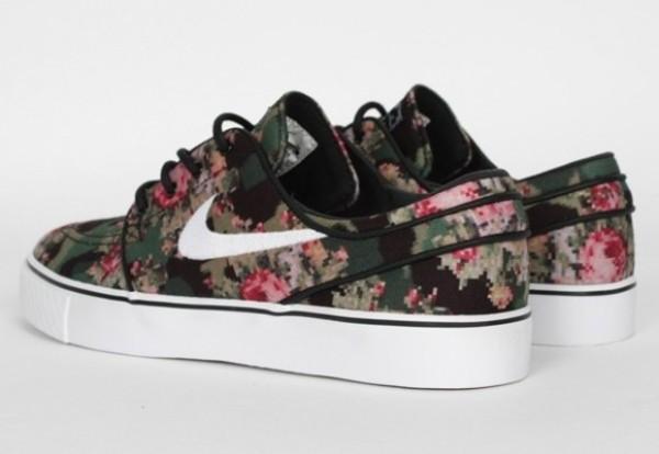 shoes nike floral janoskians print