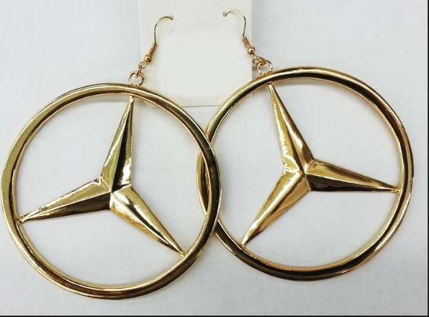 Benz Earrings | Raggedy Endz