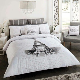 home accessory paris bedroom bedding grey romantic classy