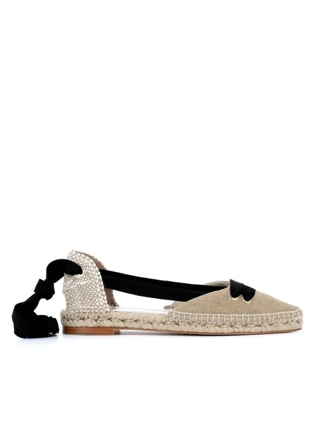 Castañer by Manolo Blahnik espadrilles black beige shoes