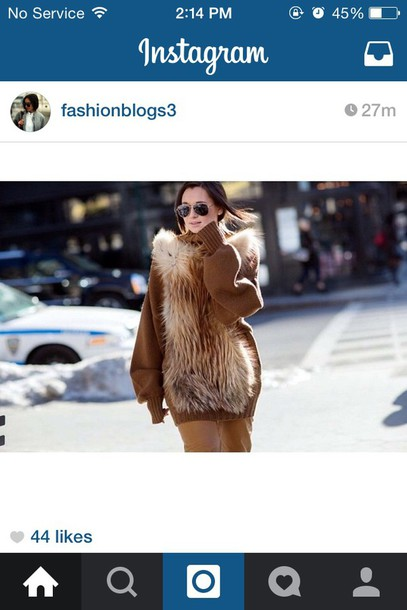 coat brown fur coat