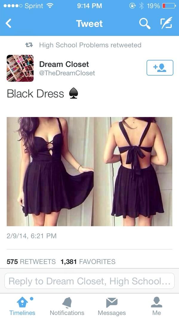 dress black!