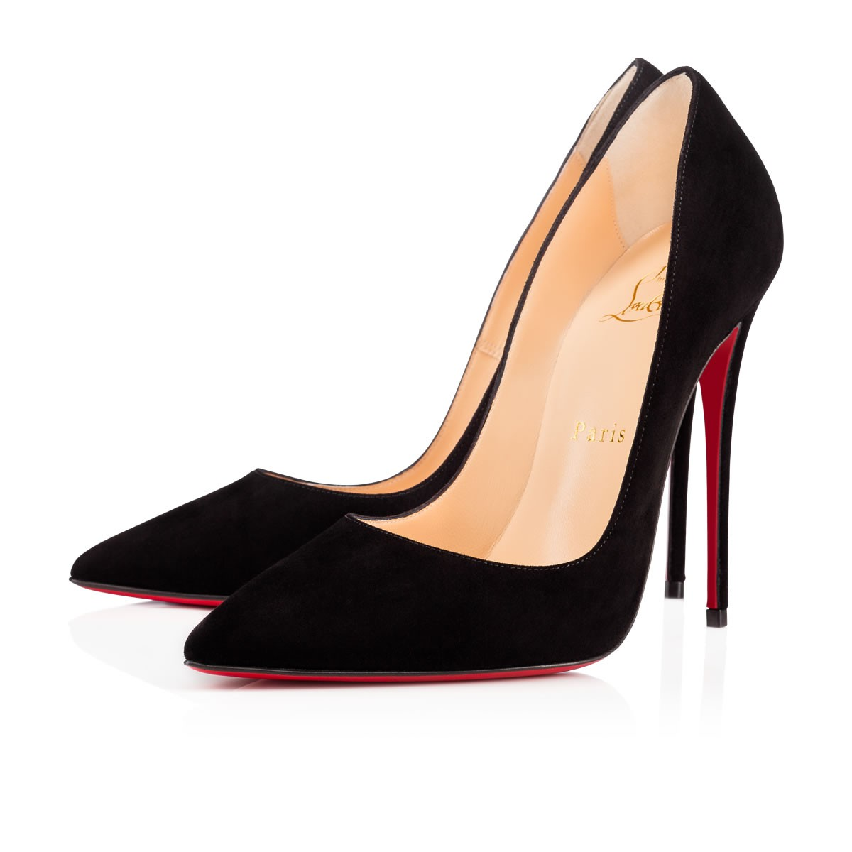 21cbe6fa890 So Kate 120 Black Suede - Women Shoes - Christian Louboutin