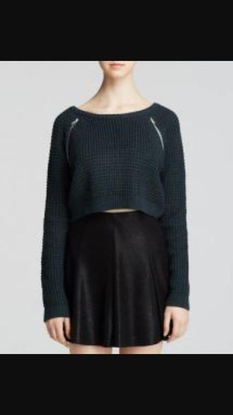 sweater hipster punk zipper shirt zipper sweater cute warm urban urban outfitters streetwear