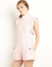 romper,finders keepers pastel pink romper,pink romper,finders keepers,pixiemarket,summer outfits,spring outfits