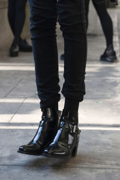 shoes boots ankle boots black ankle boots