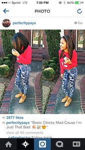 pants,high waisted jeans,red,pink,timberlands,minnie mouse,mickey mouse,mickey and minnie tee,blouse,sweater