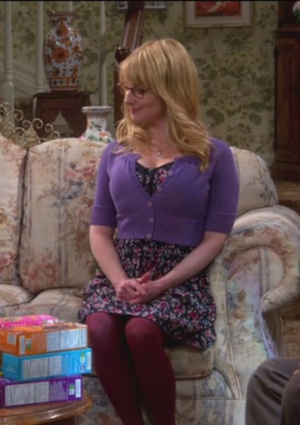 dress floral big bow melissa rauch bernadette. Black Bedroom Furniture Sets. Home Design Ideas