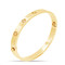 Eternal luxe bracelet gold