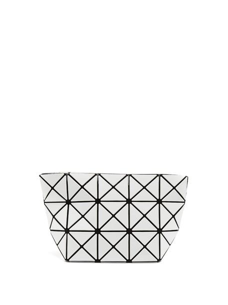 BAO BAO ISSEY MIYAKE zip pouch white bag