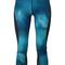 Nike - printed cropped leggings - women - polyester/spandex/elastane - s, blue, polyester/spandex/elastane