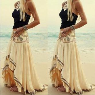 skirt boho boho chic boho skirt bohemian maxi boho bohemian skirt long boho skirt maxi boho skirt gypsy gypsy skirt