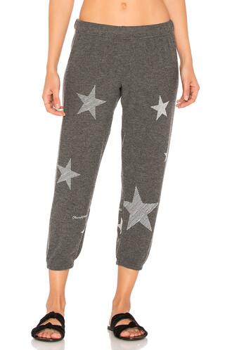 mini stars black pants