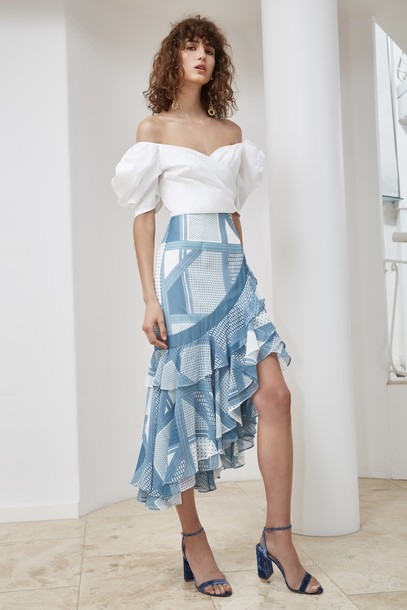 C/MEO COLLECTIVE skirt blue