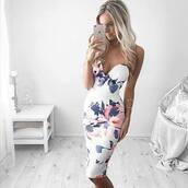 dress,floral,floral dress,sexy dress,sexy floral dress,summer dress,summer outfits,white,midi dress,sleeveless,bodycon dress,pencil skirt,floral midi skirt,bodycon,cute dress,white dress,short dress,party dress,sleeveless dress,special occasion dress,sexy party dresses,short party dresses,outfit,outfit idea,spring outfits,date outfit,cute outfits,party outfits,trendy,fashion,style,stylish,clubwear,club dress,pintrest,floral maxi dress,midi bodycon dress,white floral dress