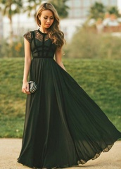 dress,black dress,black prom dress,long prom dress,need it now,need it so bad,sleeves,prom dress,olive green,sweetheart neckline,sweetheart dress,corset dress,chiffon dress,chiffon,lace,green,maxi dress
