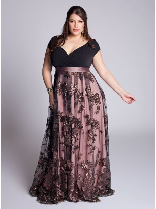 Naomi Plus Size Gown